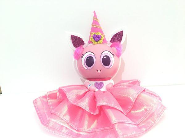 Vestido Ksimerito princesa rosa