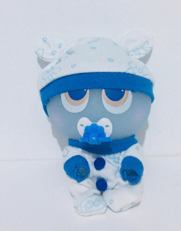 Pijama azul para ksi merito compatible